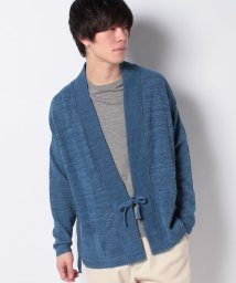 JOURNAL STANDARD MEN/【J.S.Homestead】WASHI-COTTON No Collar Cardigan Knit/501050618