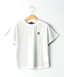 green label relaxing (Kids)/【キッズ】〔吸水速乾〕F/BバイカラードルマンTシャツ/503183529