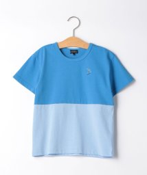 green label relaxing (Kids)/【キッズ】バイカラーTシャツ/503185577