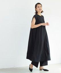 coca/とろみ素材フレアワンピース/503195709