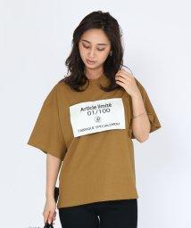 SCOTCLUB/SCOTCLUB(スコットクラブ) 【手洗い可】ボックスロゴビッグTシャツ/503198076