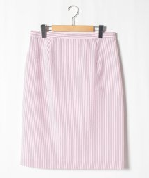 GUEST JOCONDE/【セットアップ対応】【大きいサイズ】サッカーストライプスカート/503198867