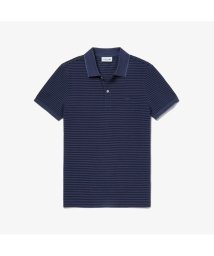 LACOSTE Mens/ボーダーデザインポロシャツ (半袖)/503200245