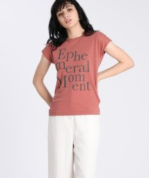 INED/ 《Maison de Beige》ロゴTシャツ《マシュふわ(R)》/503200375