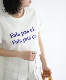 ROPE' mademoiselle/【Les Petits Basics】フレンチ ロゴ Tシャツ/503200382