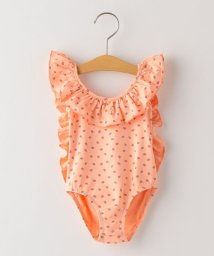 SHIPS KIDS/tocoto vintage:Strawberry print ruffled swimsuit(100~120cm)/503201442