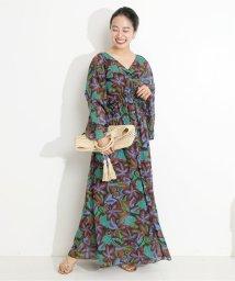 VERMEIL par iena/Eローンエスニックプリントワンピース◆/503201592
