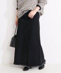 VERMEIL par iena/《追加》デニムリメイク風 ロングスカート◆/503201596