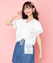 JENNI love/フロントシャーリングTシャツ/503201723