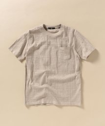 SHIPS MEN/SC: リンクス ジャガード バンダナ柄 Tシャツ/503201729