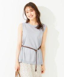 any SiS S/【洗える】ホールガーメント チュニック/503201933