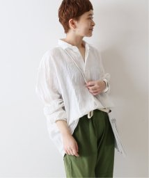 FRAMEWORK/【INDIVIDUALIZED SHIRTS】 別注Linen シャツ◆/503202131