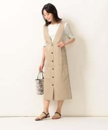 SHIPS any WOMENS/SHIPS any:TEEセットサロペットスカート/503202136