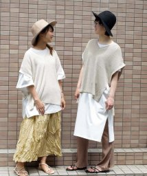 ARGO TOKYO/Side ribbon vest 25068/503202510