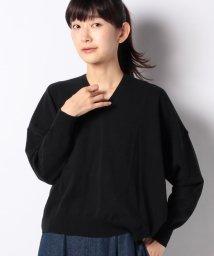 SHIPS WOMEN/SDW:抜け衿コクーンV/N ニット/503151057