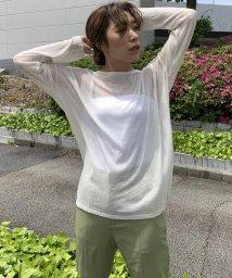 LIPSTAR/【WEB別注】シアーリブカットソー/503182891
