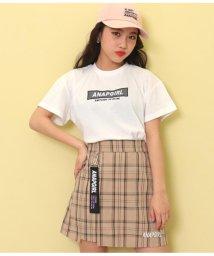 ANAP GiRL/メッシュボックス刺繍Tシャツ/503202668