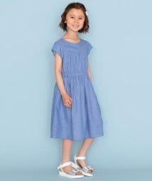 KUMIKYOKU KIDS/【120-140cm】シャンブレー ワンピース/503202690