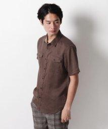 THE SHOP TK/ダブルポケットカジュアルシャツ/503202980