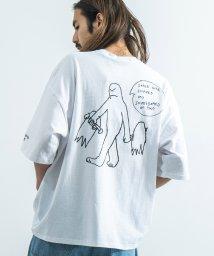 Rocky Monroe/MARK GONZALES マークゴンザレス Tシャツ 半袖 メンズ レディース ビッグシルエット ルーズ ボックス 綿 コットン カジュアル ストリート プリ/503202997