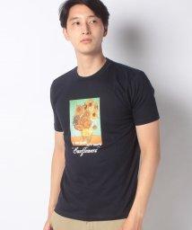 STYLEBLOCK/絵画プリント半袖Tシャツ/503149739