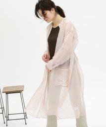 CAST:/【WEB限定】シースルーシャツドレス/503174217