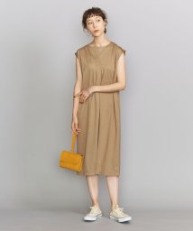 BEAUTY&YOUTH UNITED ARROWS/BY 天竺スキッパーネックノースリーブワンピース/503191930