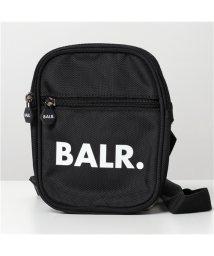 BALR/【BALR.(ボーラー)】B10035 Cross Body Bag ナイロン ショルダーバッグ サコッシュ ウエストポーチ ロゴ 鞄 Black メンズ   /503196185