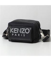 KENZO/【KENZO(ケンゾー)】5SF218 F24 ボディバッグ ショルダーバッグ クロスボディ 鞄 99/ブラック メンズ/503196252