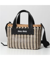 MIUMIU/【MIUMIU(ミュウミュウ)】5BA077 2BU1 F0Z40 レザー ハンドバッグ ショルダーバッグ 鞄 レディース/503196290