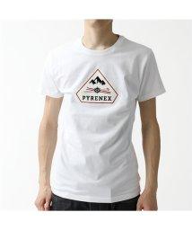 PYRENEX/【PYRENEX(ピレネックス)】HMN009 1000 KAREL クルーネック 半袖 Tシャツ カットソー WHITE メンズ/503196320