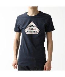 PYRENEX/【PYRENEX(ピレネックス)】HMN009 4004 KAREL カレル クルーネック 半袖 Tシャツ カットソー AMIRAL/ネイビー メンズ/503196321