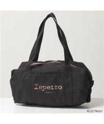 Repetto/【repetto(レペット)】B0232T Cotton Duffle bag Size M プリント ロゴ ミディアム ダッフルバッグ ハンドバッグ 鞄 3色/503196327