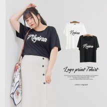 clette/cletteオリジナル★ロゴプリントTシャツ/503203983