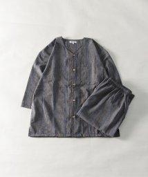 Nylaus/シジラ織り パジャマ 上下セット セットアップ ルームウェア リラクシングウェア/503204442