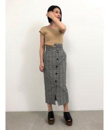 SNIDEL/アシメデザインタイトスカート/503205084
