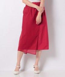 SHIPS WOMEN/NICO:ORGANDY WRAP スカート/503151039