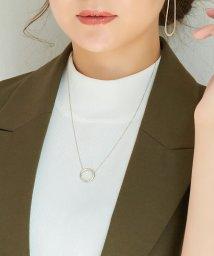 Phoebe/【SV925】サークルフレームネックレス/503167675
