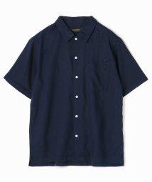 vital/麻レーヨンオープンカラーシャツ/503182862