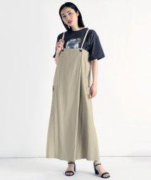 LASUD/[RADIATE] ロープサスペンダー ジャンパースカート/503204341