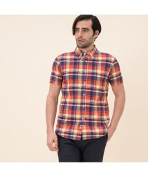 AIGLE MEN/吸水速乾カラーチェックシャツ/503205217