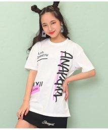 ANAP GiRL/落書きメッセージTシャツ/503205339
