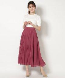 Swingle/巻き風プリーツマキシスカート/503205379