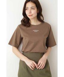 NATURAL BEAUTY BASIC/プチフォントロゴTシャツ/503205411