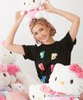 SHIFFON/CYBERJAPAN DANCERS(サイバージャパンダンサーズ) KANAデザイン【HELLO KITTY】Tシャツ/503205655