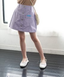 ROPE' PICNIC KIDS/【ROPE' PICNIC KIDS】フロント釦台形スカート/503205712