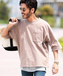 JIGGYS SHOP/カットアンサンブル / Tシャツ メンズ おしゃれ ティーシャツ 半袖 タンクトップ タンク レイヤード 重ね着 クルーネック アンサンブル/503205724
