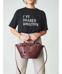 Mila Owen/3段ロゴTシャツ/503206145