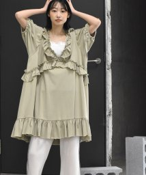 Alley by w closet/【Alley】フリルトップス/503206705