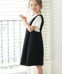 ROPE' PICNIC KIDS/【ROPE' PICNIC KIDS】Vネックジャンパースカート/503207120